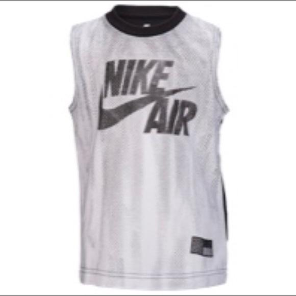 Nike Preschool Poshmark Air Jersey TopsBoys Tshirt Muscle Shirtsamp; mnwN08
